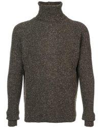 Jan Jan Van Essche - Ribbed Turtleneck Sweater - Lyst