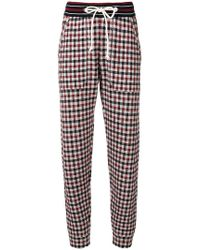 Mrz - Grid Patterned Trousers - Lyst