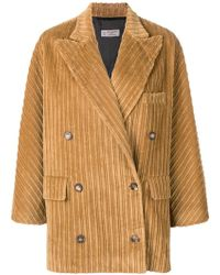 Alberto Biani - Loose Oversized Jacket - Lyst
