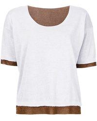 Roberto Collina - Layered T-shirt - Lyst