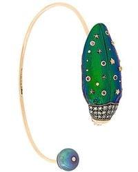 Bibi Van Der Velden | Scarab Bangle Bracelet | Lyst