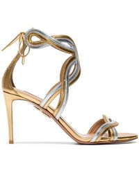 Aquazzura - Moonray 85 Specchio Sandals - Lyst