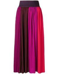 Altea - High-waisted Pleated Skirt - Lyst