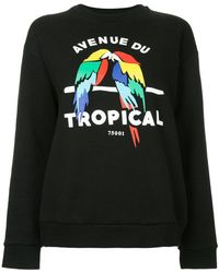 Être Cécile - Tropical Boyfriend Sweatshirt - Lyst
