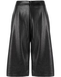 UMA | Raquel Davidowicz - | Cropped Flared Shorts - Lyst