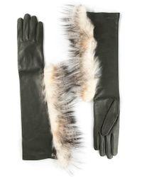Fendi - Elbow Gloves - Lyst