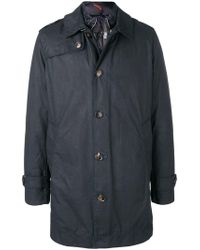 Rrd - Buttoned Padded Coat - Lyst