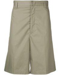 Jil Sander - Flared Bermuda Shorts - Lyst