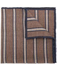 Eleventy - Striped Print Scarf - Lyst
