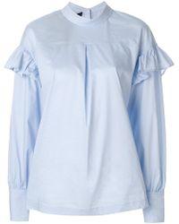 Designers Remix - Romy Ruffle Shirt - Lyst