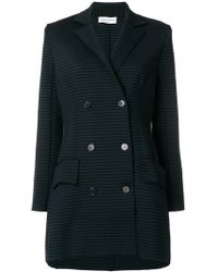 Sonia Rykiel - Striped Double-breasted Jacket - Lyst