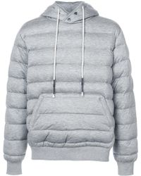 Mostly Heard Rarely Seen - Knit Quilted Pull Over Hoodie - Lyst