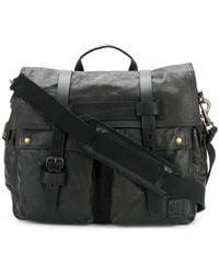 Belstaff - Foldover Top Bag - Lyst