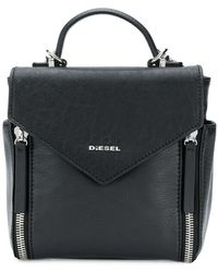 DIESEL - Logo Backpack - Lyst
