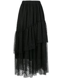 Twin Set - Ruffled Skirt - Lyst