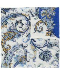 Etro - Paisley-print Scarf - Lyst