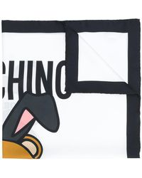 Moschino - Playboy Teddy Bear Scarf - Lyst