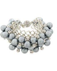 Moy Paris - Beaded Pendant Bracelet - Lyst