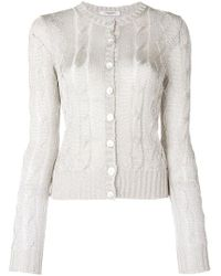 Charlott - Fitted Front Fastened Jumper - Lyst