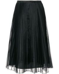 Blugirl Blumarine - Pleated Layer Skirt - Lyst