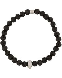 Northskull - Atticus Skull Bracelet - Lyst