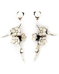 Shaun Leane - 'cherry Blossom' Diamond Earrings - Lyst