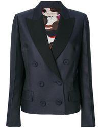 Emilio Pucci - Double-breasted Tuxedo Jacket - Lyst