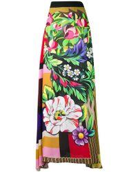 Mary Katrantzou - Printed Full Skirt - Lyst