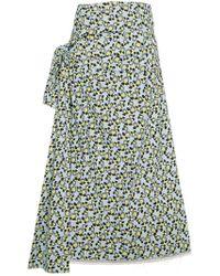 Marni - Tied Waist Skirt - Lyst