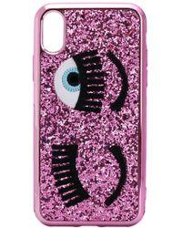 Chiara Ferragni - Flirting Glitter Iphone X Case - Lyst