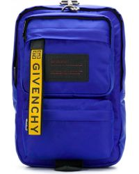 Givenchy - Gepolsterter Rucksack mit diagonalem Schulterriemen - Lyst