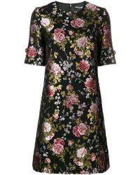 Dolce & Gabbana - Vestito con stampa floreale - Lyst
