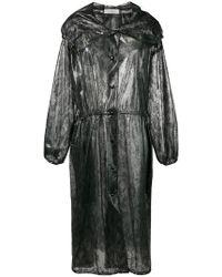 Nina Ricci - Lace Print Raincoat - Lyst