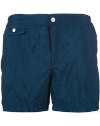 Incotex - Flap Pocket Swimshorts - Lyst
