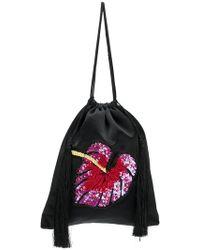 Attico - Sequin Embellished Purse - Lyst