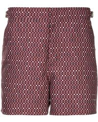 The Upside - Printed Running Shorts - Lyst