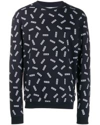 Moschino - Logo Print Sweatshirt - Lyst