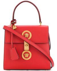 Versace | Embellished Medusa Shoulder Bag | Lyst