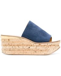 Chloé - Platform Sandals - Lyst