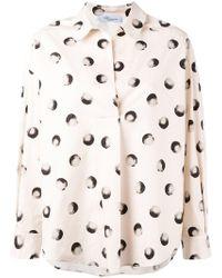 Blumarine - Printed Shirt - Lyst