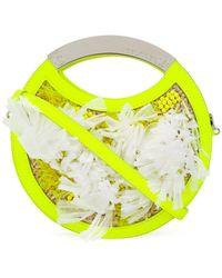 Delpozo - Fringed Circular Bag - Lyst