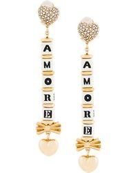Dolce & Gabbana | Amore Drop Earrings | Lyst