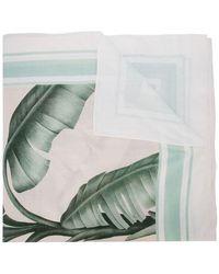 Johanna Ortiz - Leaf Print Scarf - Lyst