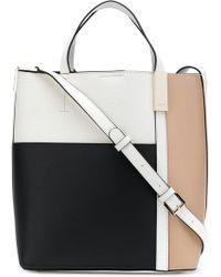 DKNY - Colour Blocked Shoulder Bag - Lyst