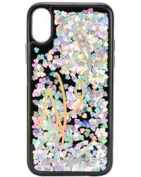 Karl Lagerfeld - Liquid Glitter Sequin Iphone X Case - Lyst
