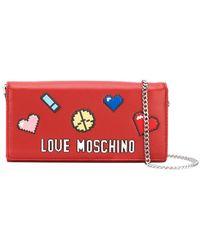 Love Moschino - Love Pixel Wallet - Lyst