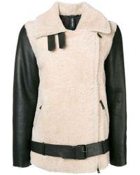 Giorgio Brato - Oversized Shearling Jacket - Lyst