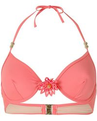 Marlies Dekkers - La Flor Plunge Bikini Top - Lyst
