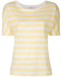 Closed - Striped T-shirt - Lyst
