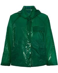 Aspesi - Translucent Rain Jacket - Lyst